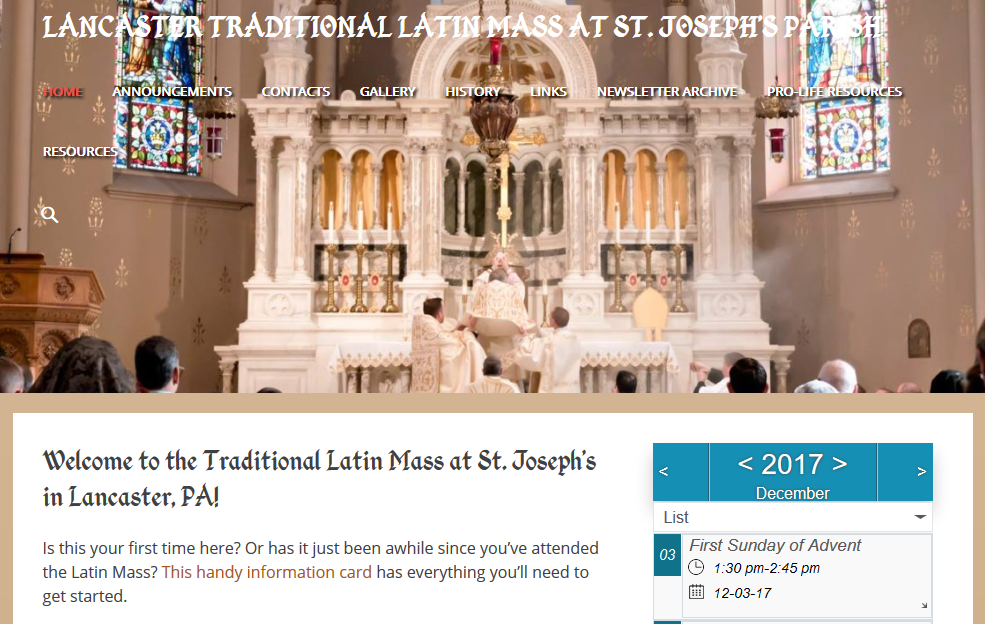 Lancaster Latin Mass Community